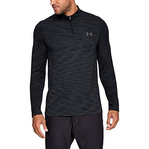 Under Armour Men's Siphon 1/2 Zip Sweatshirt, Black (001)/Graphite, X-Large