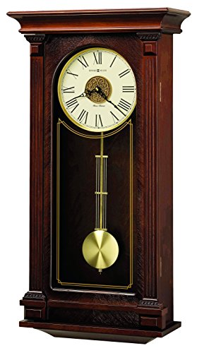 Howard Miller Sinclair Clock - Triple Wall Width Cherry
