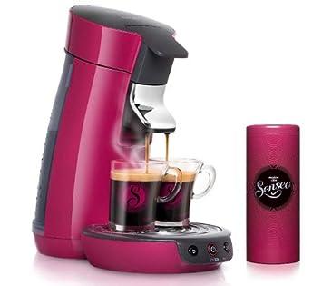 PHILIPS Senseo Viva Café HD7825/49- rosa frambuesa - Máquina de café + 2