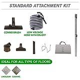 Central Vacuum Hardwood Floor Brush Cleaning Tools Attachment Kit - Tile Floors