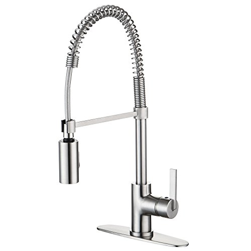 Purchase Enzo Rodi ERF7209251AP-10 Modern Commercial Kitchen Faucets with Pull-Down Sprayer,Stainles...