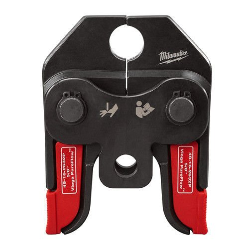 Milwaukee 49162632P M18 5/8 in. Viega PureFlow Jaw for Short Throw Press Tool by Milwaukee