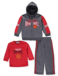 Victory League Boys' 3-Piece Sweatsuit Pants Set