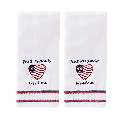 - SKL Home by Saturday Knight Ltd. Faith Family 2 Pc Hand Towel Set, White