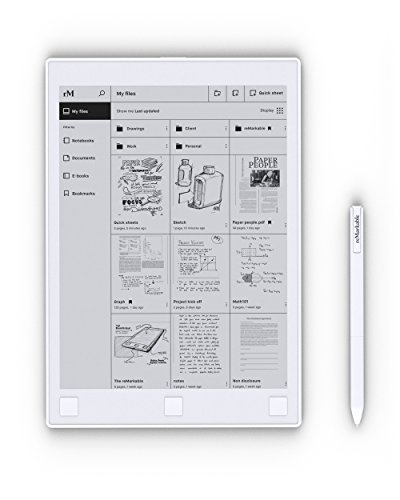 reMarkable-The-Paper-Tablet-103-Digital-Notepad-Paper-Feel-with-Low-Latency-and-Glare-Free-Touchscreen-Display-Wi-Fi-Convert-Handwritten-Notes-to-Typed-Text
