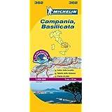 Campania - Michelin Local Map 362 (Michelin Local Maps)