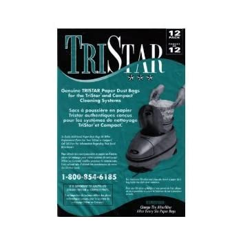 Generic-Compact//Tristar Vacuum Bags Microfiltration With Closure 12 Pack