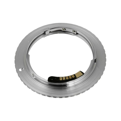 Fotodiox Lens Mount Adapter - Contax/Yashica (CY) SLR Lens to Canon EOS (EF, EF-S) Mount SLR Camera Body, with Focus Confirmation Chip ()