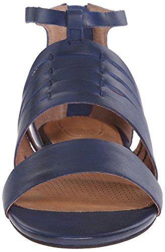 Corso Como Women's Sprint Dress Sandal, US US Cobalt Brushed Leather