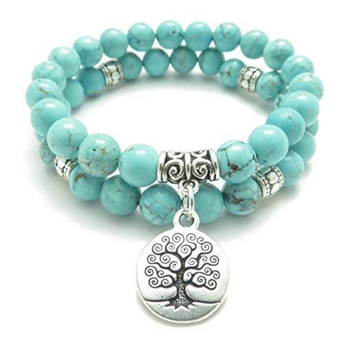 Turquoise Healing Master Bracelet  Elephant Charm