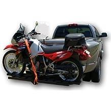 ALEKO Hitch Mounted Sport Motorcycle Carrier Hauler Rack Ramp 600Lb