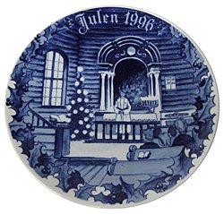 1996 Porsgrund Christmas Plate - Christmas ()