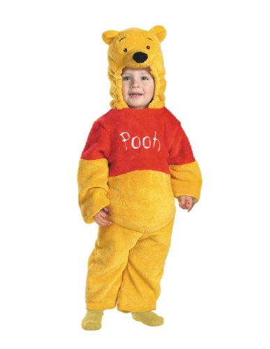 Pooh Halloween - Winnie The Pooh Deluxe 2-Sided Plush Jumpsuit Costume (12-18 months)