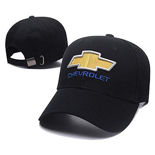 (Forno Car Logo Embroidered Color Adjustable Baseball Caps for Chevrolet,Men and Women Hat Travel Cap Car Racing Motor Hat - Black (Chevrolet) )