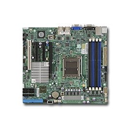 Supermicro Motherboard H8SCM-F AMD Opteron SR5650/SP5100 DDR3 SATA PCI Express - Opteron Pci Motherboard