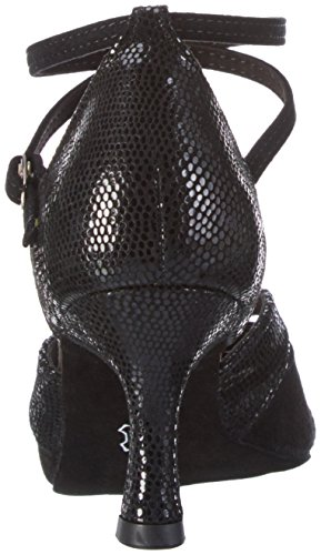 Diamant Damen Tanzschuhe 141-087-084, Zapatos de Danza Moderna/Jazz para Mujer negro