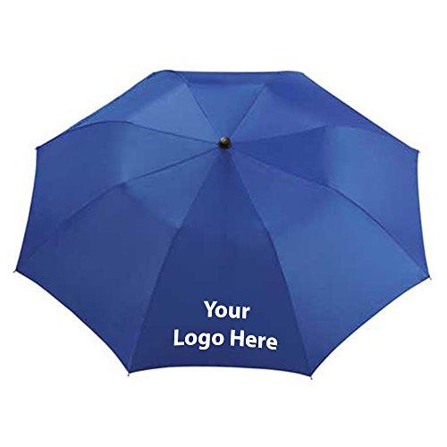 Seattle 36'' Folding Auto Umbrella - 50 Quantity - $6.35 Each - PROMOTIONAL PRODUCT / BULK / BRANDED with YOUR LOGO / CUSTOMIZED by Sunrise Identity