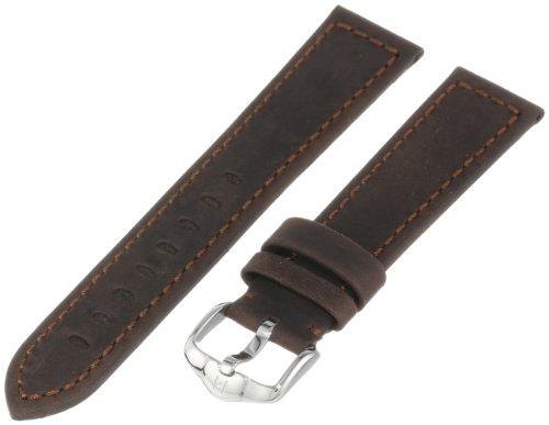 Hirsch 046330-10-20 20 -mm  Genuine Leather Watch Strap
