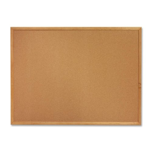 (Lorell Oak Wood Frame Cork Board 18