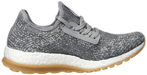 adidas Pureboost X Atr, Sneakers Basses Femme, Gris (Grigio Grimed/Grivis/Plamet), 42 EU