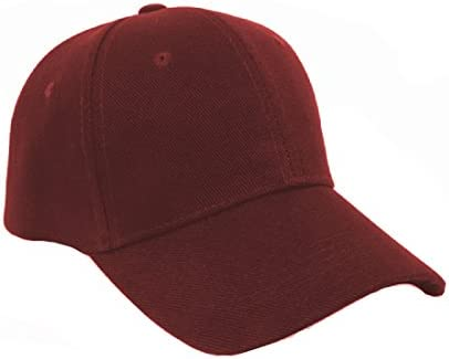 b2d3d4c050a Michelangelo Imported Maroon Solid Color Summer Baseball Trucker Cap for  Men Women and Kids(Adjustable)  Amazon.in  Clothing   Accessories