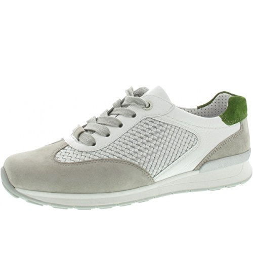 Ara Helsinki Mujer Sneaker Guijarros 12 Depósitos 34533 H Los Ancho Rana Plata Llevando Blanco rtqFErx