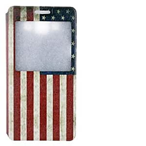 LCJ The Old Glory Drawing Design PU Leather Full Body Case for Samsung Galaxy A5