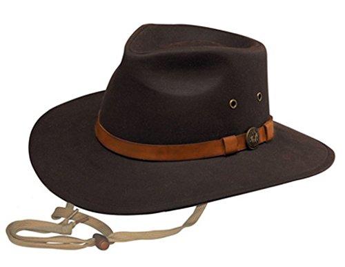 ens Co. Kodiak Oilskin Hat Brown XX-Large ()