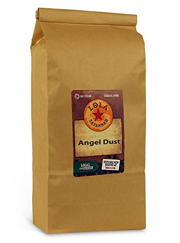 (Lola Savannah Angel Dust Whole Bean Coffee - Delicate Blend of Rich Chocolate & Sweet Coconut Creme | Caffeinated | 2lb Bag)