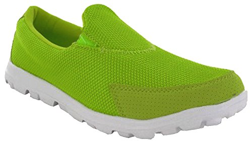 Gymnase Sport De Sport Vert Pour Dek Walking Lime Get Chaussures Femmes Fit Go wvRdnq5