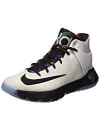 Nike Men's KD Trey 5 IV White/Mlt Clr Blck Ttl Orng Basketball Shoe 11 Men US