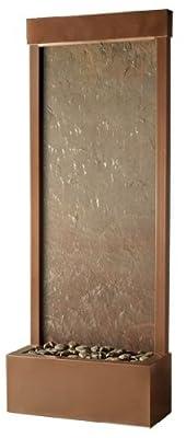 Bluworld 4' Coppervein Gardenfall Fountain with Slate Panel