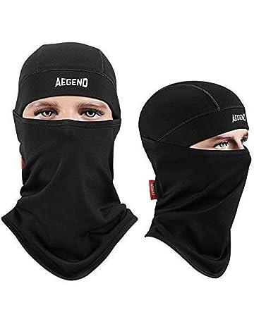 Aegend Balaclava Windproof Ski Face Mask Winter Motorcycle Neck Warmer  Tactical Balaclava Hood Polyester Fleece for a57c1e268283