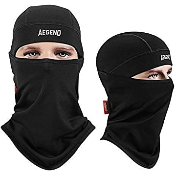 reliable Balaclava Aegend Windproof Ski Face Mask Winter Motorcycle Neck Warmer Tactical Balaclava Hood Polyester Fleece for Women Men Youth Snowboard Cycling Hat Outdoors Helmet Liner Mask-Black