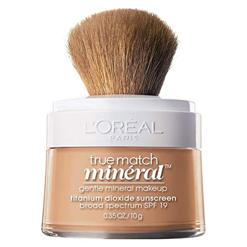 L'Oreal True Match Naturale Mineral Foundation, Natural Buff [457], 0.35 oz (Pack of 2)