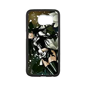 Samsung Galaxy S6 Cell Phone Case White D.Gray-man Phone Case Cover Protective Custom CZOIEQWMXN24948