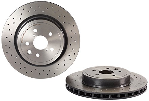 Brembo 09.A301.11 UV Coated Rear Disc Brake Rotor