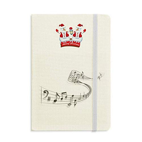Song Score Christmas - Song Music Score Melodious Classical Christmas Snowman Notebook Thick Hardcover
