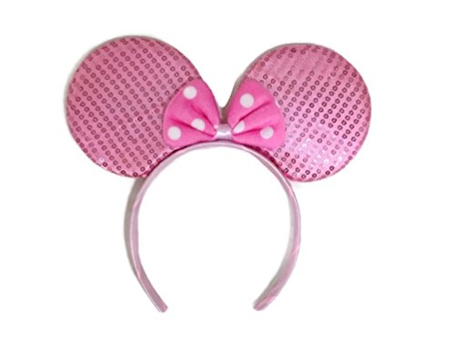 Price comparison product image MeeTHan Mickey Mouse Minnie Mouse Ears Headband Sparking : M1 (Kitty)
