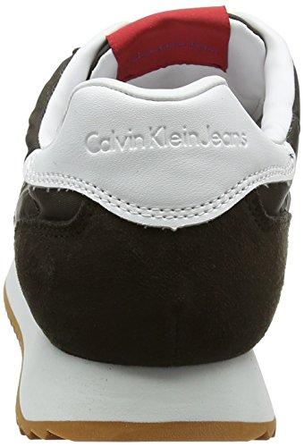 Sneakers 000 Bleu Calvin Jeans Graph Homme Nylon Basses Cro Klein Suede wqvXqPx