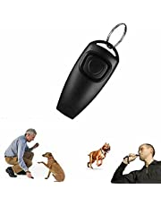 Pet Dog Training Clicker 2 Pack Easy clicking Loud Sound Train Dogs Correcting Bad Behavior Stop Barking