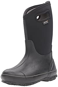 Bogs Classic Solid Boot - Boys' Black, 10.0
