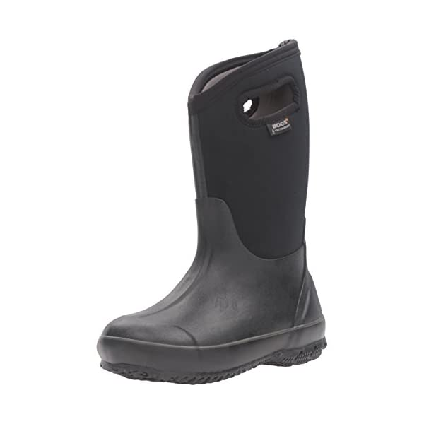 84487e34fcd6 Bogs Kids Classic High Waterproof Insulated Rubber Rain and Winter Snow Boot  for Boys ...