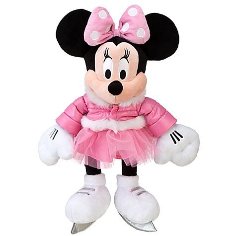 Official Disney Limited Edition 2011 Ice Skating Minnie Mouse Plush Toy -- 20