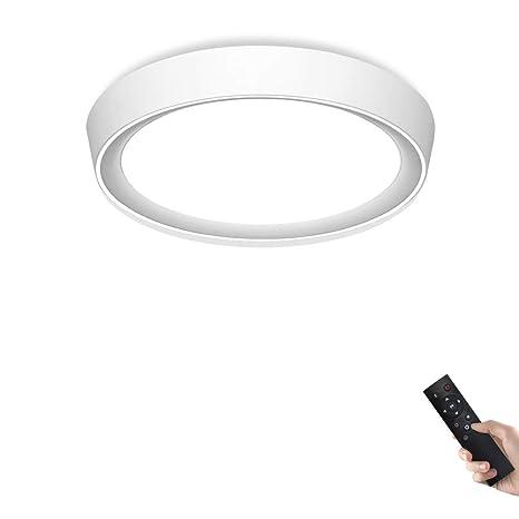 Lámpara de techo regulable con mando a distancia, 24 W, 40 ...