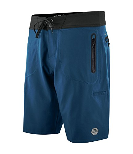 Pelagic Men's Hydro-Lite Pro Abyss Boardshorts | 22 inch Outseam | Welded Zippers | Quick Dry (Abyss Apparel)