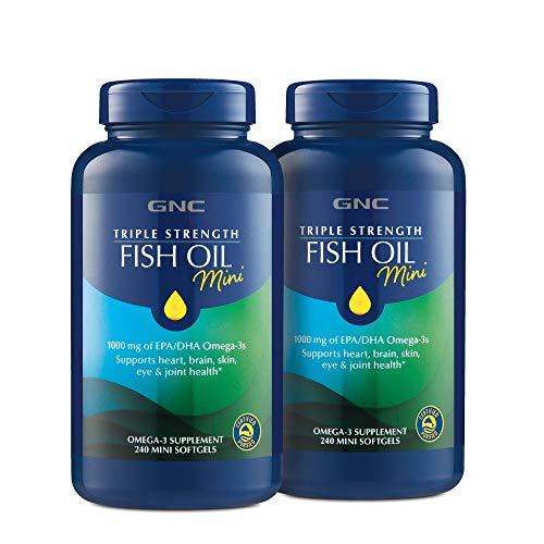 GNC GNC Triple Strength Fish Oil Mini - Twin Pack