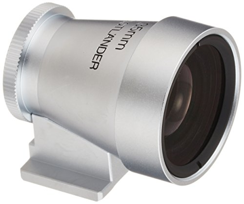 Voigtlander Metal Viewfinder for 35mm Lens, Silver by Voigtlander