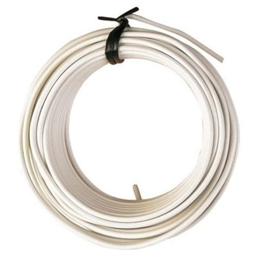 Ferrob 2331 K9 Rouleau de fil de fer plastique blanc 20 m