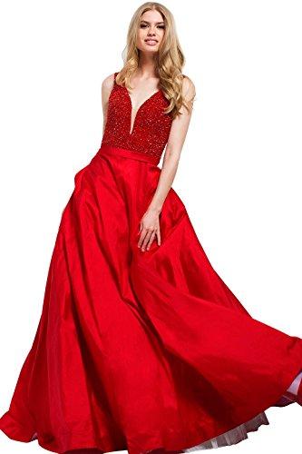Jovani Evening Fall Ball Gowns Partywear Collection Women's Evening Dress (40712)